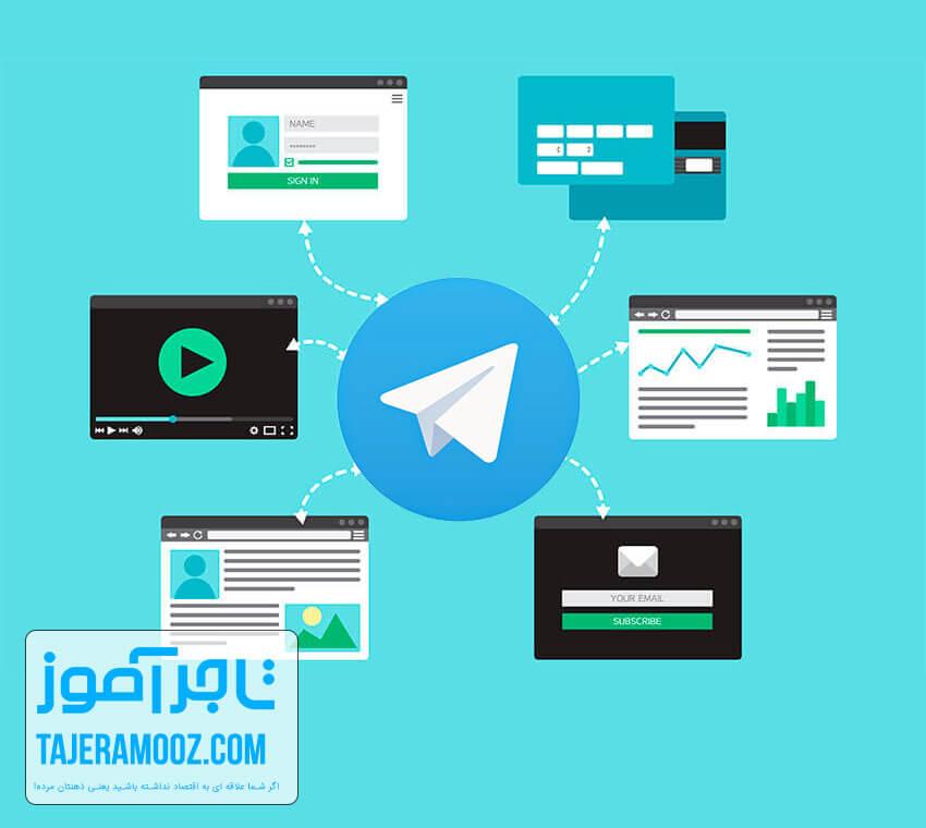 کسب درآمد از تلگرام با همکاری در فروش